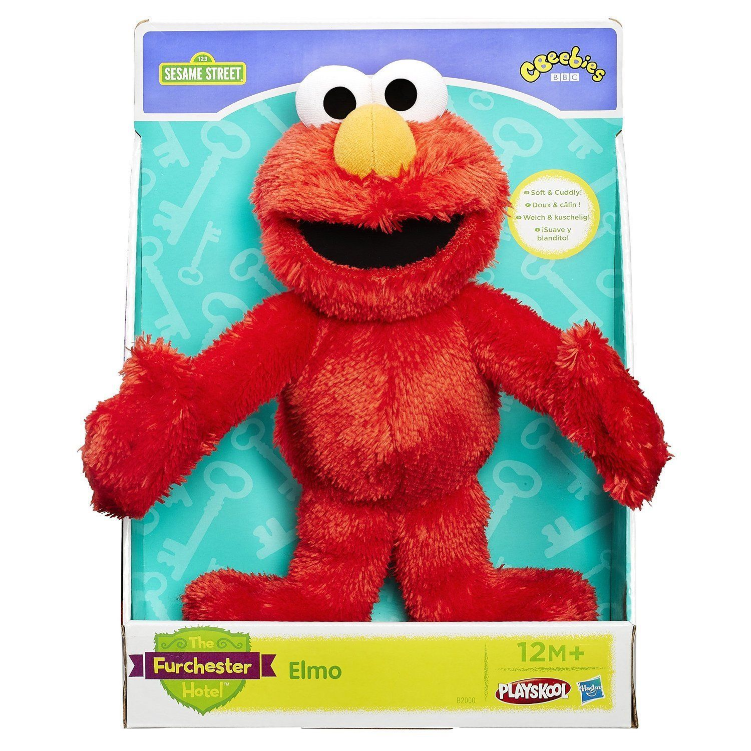 Sesame Street Elmo Toys : The furchester hotel sesame street let s cuddle plush